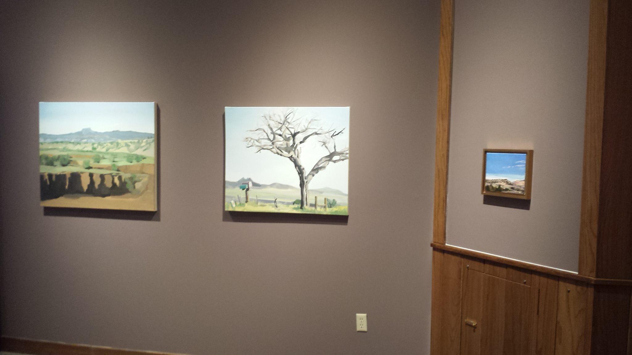Holt-Russell Gallery, Baker University, Baldwin City, Kansas, March 2016