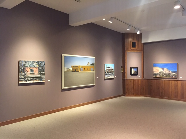Holt-Russell Gallery, Baker University, Baldwin City, Kansas, March 2016