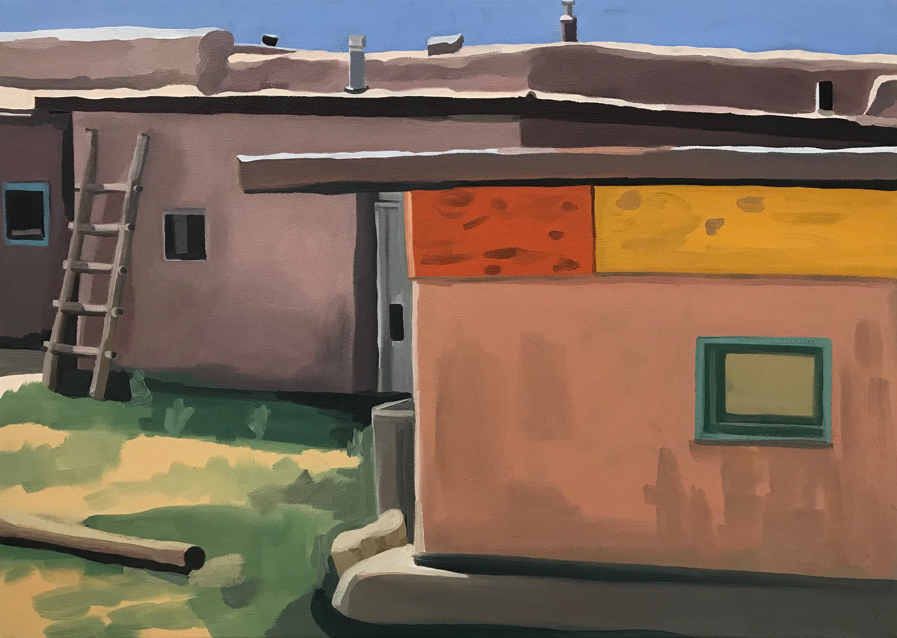 Pueblo Adobes