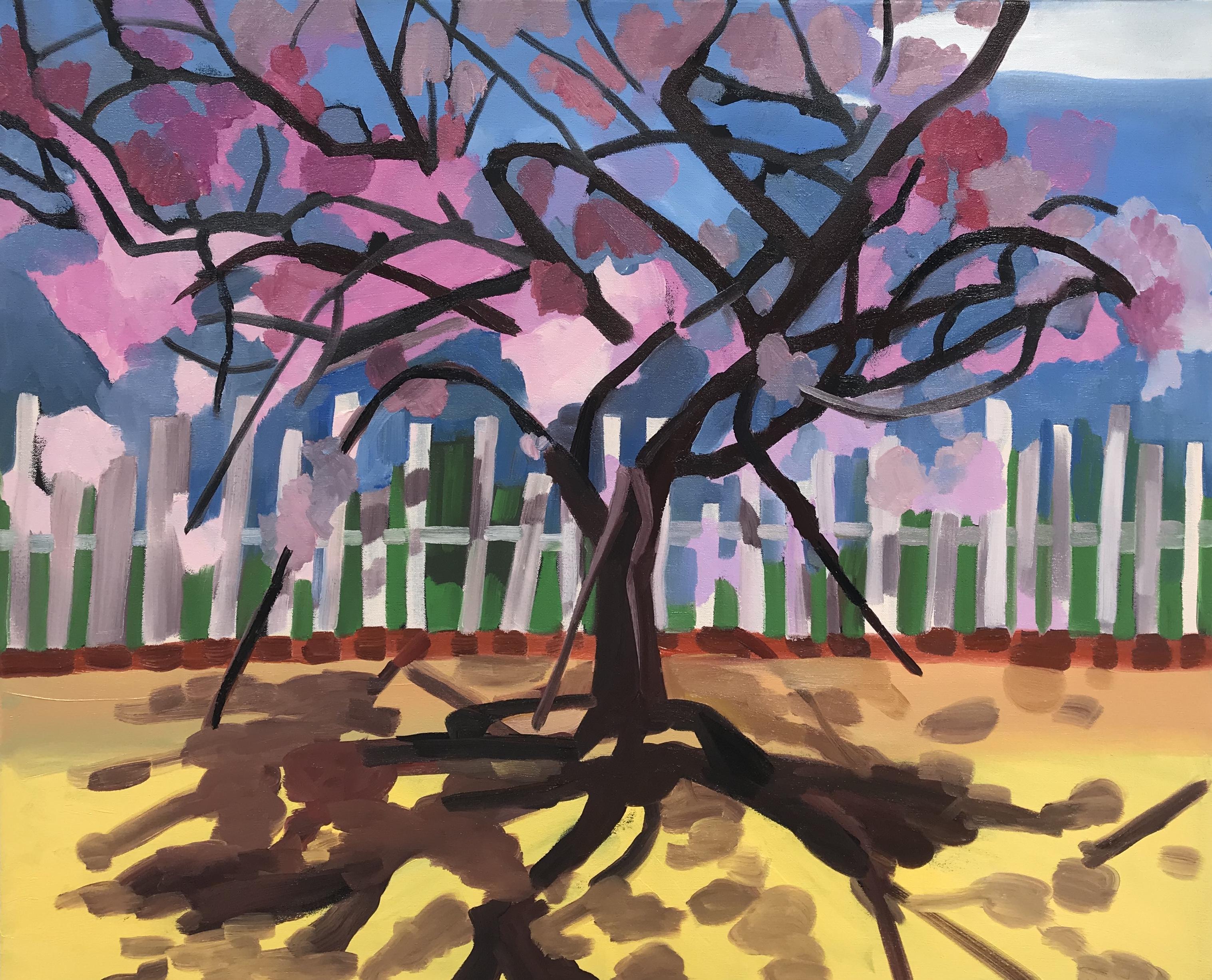 "Burst of Spring, oil on canvas, 26"" x 32"""