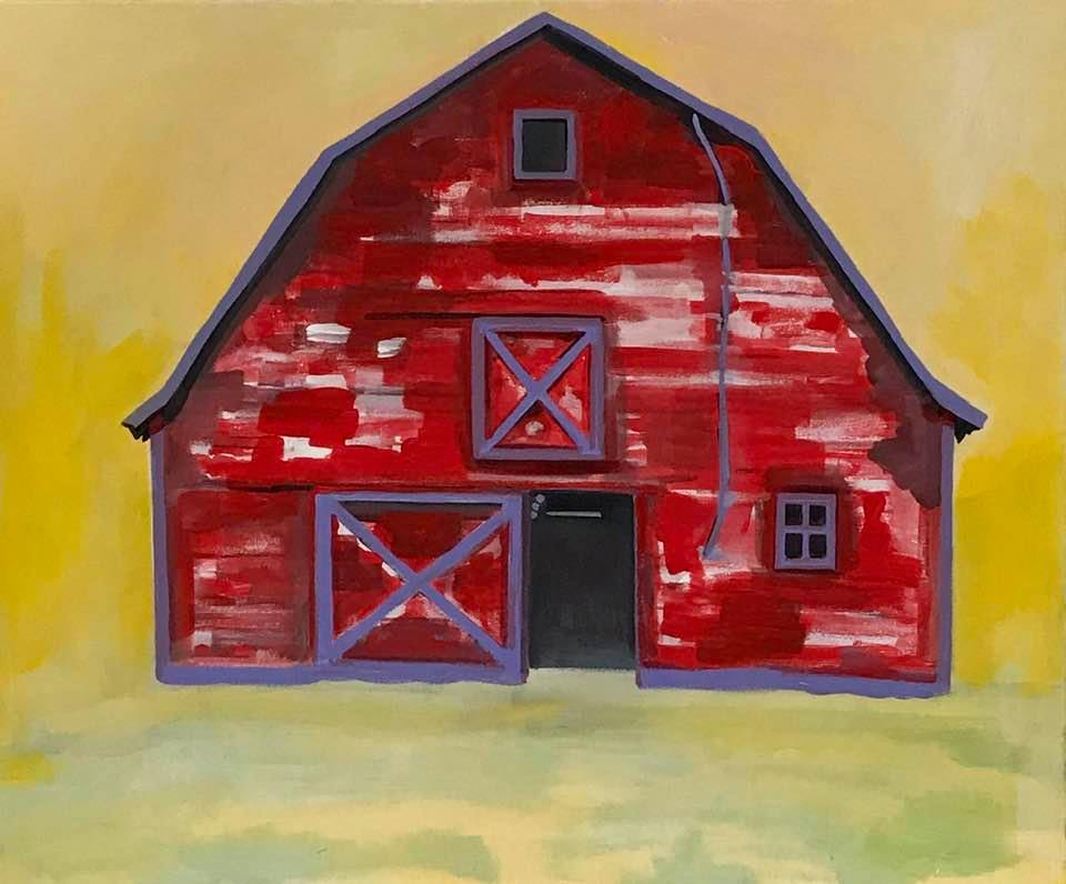 Red barn love