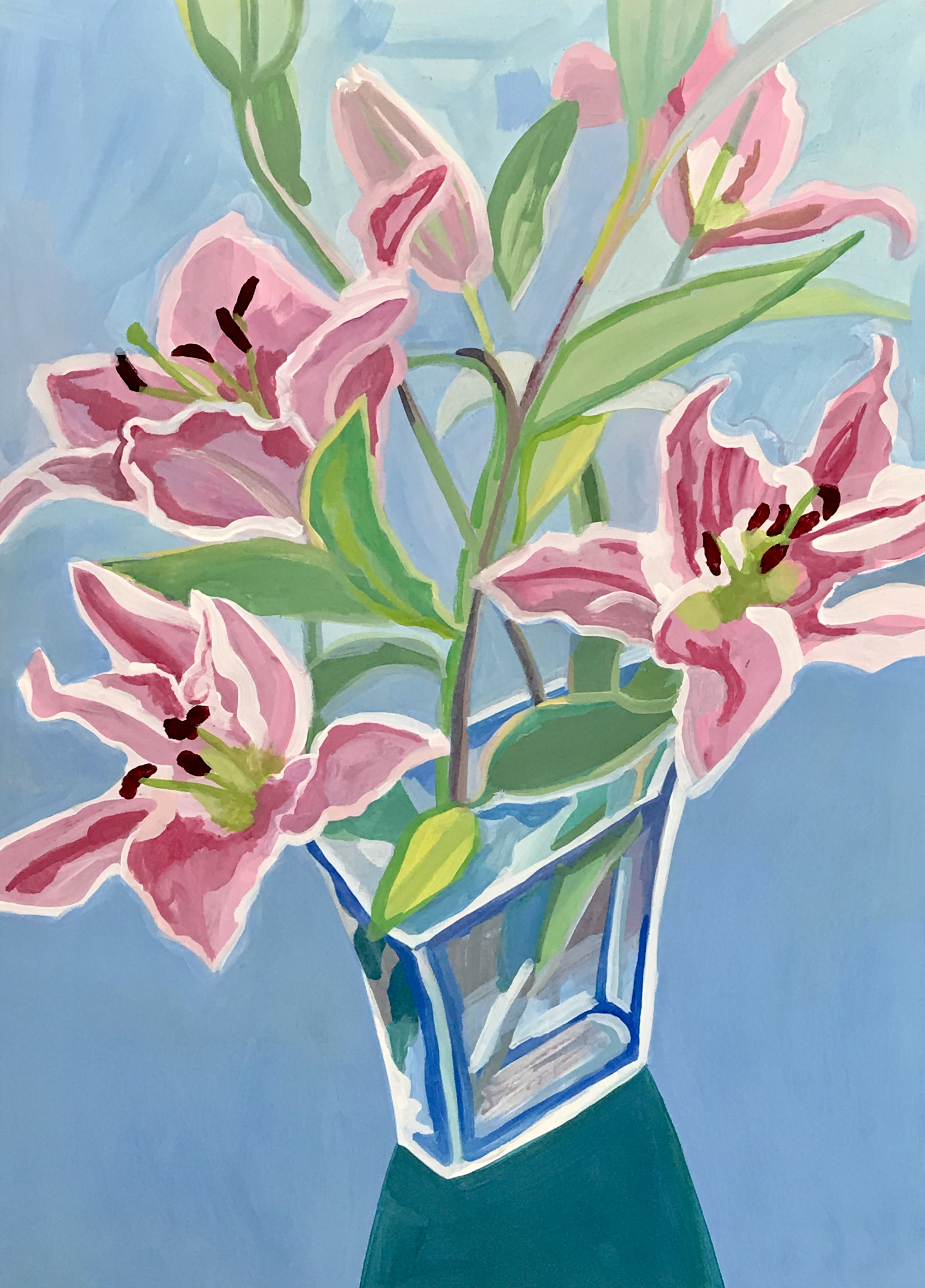 Flowers  in a vase,
