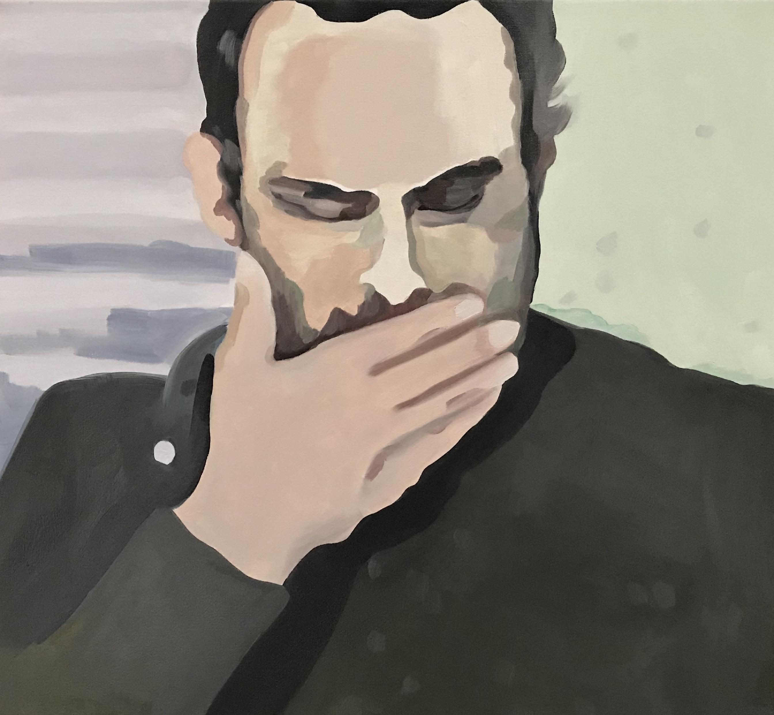 """Paris, oil on canvas, 24"""" x 26"""""""