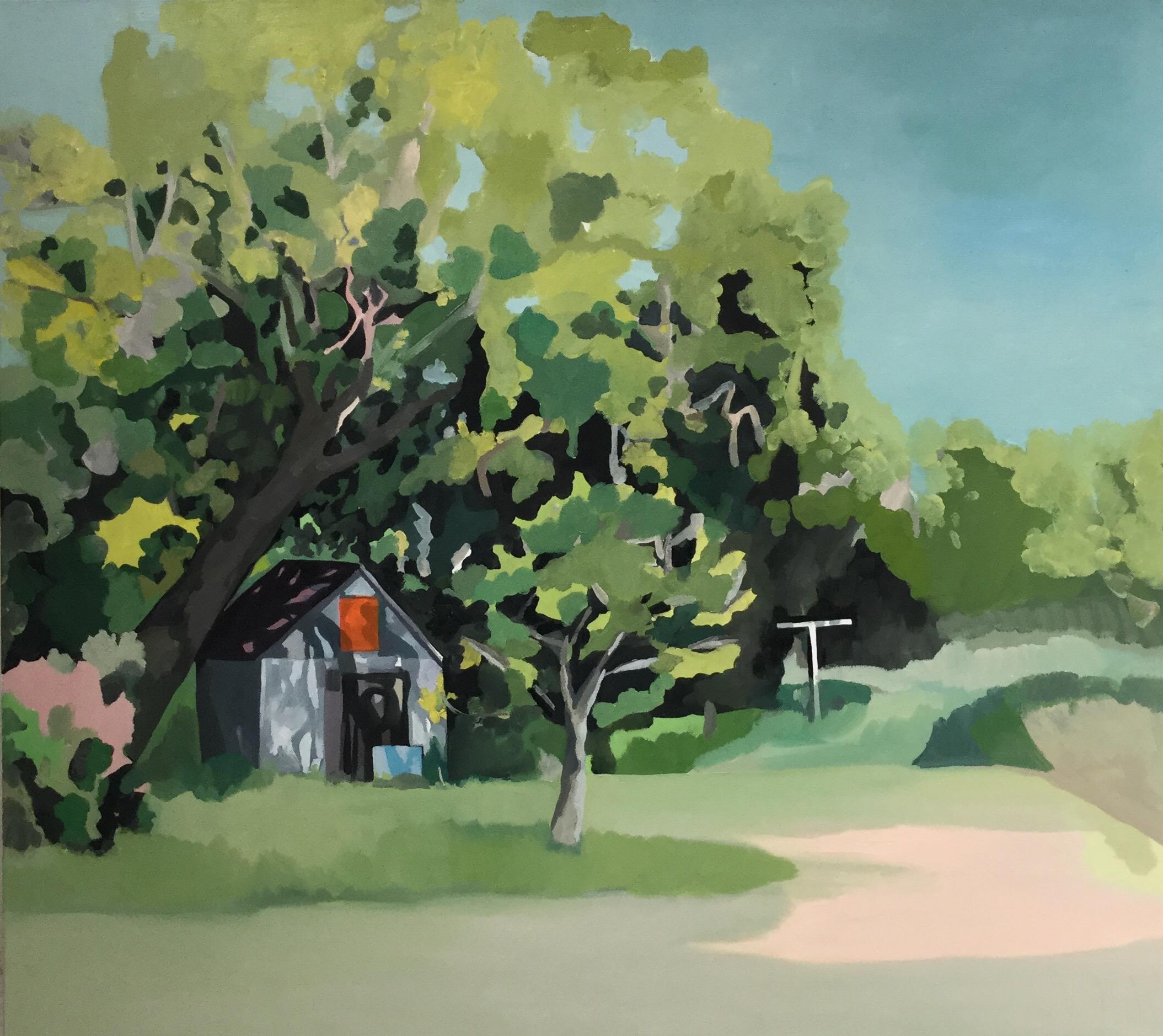 """Hidden Place, oil on canvas, 36"""" x 40"""""""