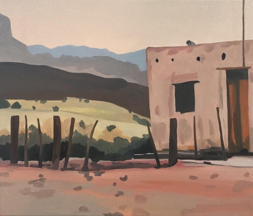 "Maderas del Carmen, oil, 24"" x 28"""
