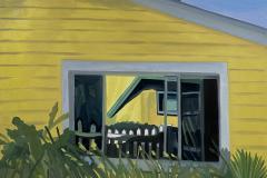 Beach house window