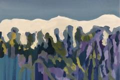 Snow on the wisteria