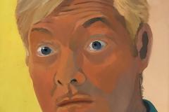 """Kurt, oil on canvas, 12"""" x 12"""""""