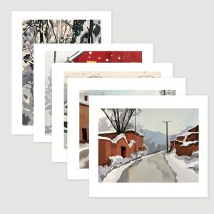 Notecards featuring art by Sheila Miles